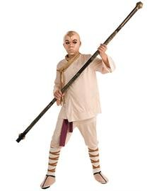 The Last Airbender Aang Deluxe Kids Costume, Medium (Bender Costume)