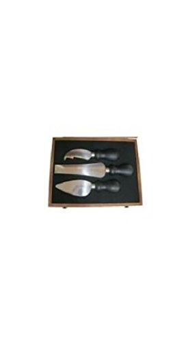 PRESENTATION GIFT CASE - CHEESE KNIVES IN A HARDWOOD CASE by Cheese and Yogurt Making