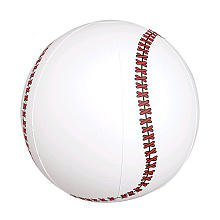 - Rhode Island Novelty Inflatable Baseballs 1 Pack