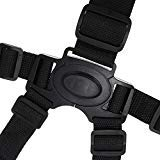 Universal Baby Point Harness Safe Belt Seat Belts Holder for Children high chair replacement ()