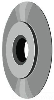 Ridgid 33185 Replacement Cutter Wheel Sold By 2 Pack