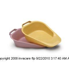 Fracture Bedpan Plastic Mauve, Bedpan fracture Plastic Mauve, (1 CASE, 50 EACH) by MEDICAL ACTION INDST INC
