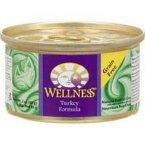 Wellness Canned Turkey Cat Food 24x 5.5 Oz