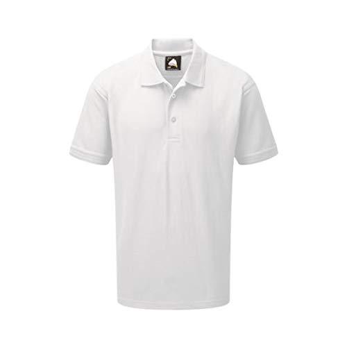 ORN Workwear 1000 Plover color blanco talla grande Camiseta de manga corta 10 unidades