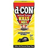 Mouse D-con Traps - D-Con Ultra Set Covered Snap Trap 1 Ct. (Pack of 10)