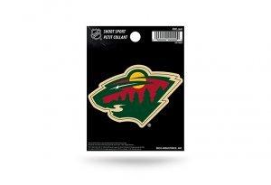 Rico Industries NHL Minnesota Wild Die Cut Team Logo Short Sport Sticker ()