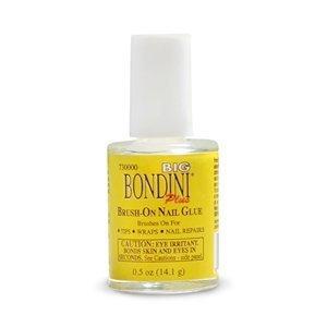 Big Bondini Brush-On Nail Glue .5oz (PACK OF 3) by Big Bondini