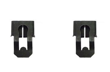 - Door Lock Rod Clips, Pair