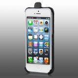 MyBat Holster with Belt Clip for Apple iPhone 5S/5 - Retail Packaging - Black
