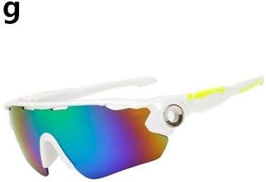 DFGDH Gafas de Moto Ciclismo Gafas Uv400 Hombres Mujeres Esquí Bicicleta Gafas Gafas MTB Sport Gafas De Sol Senderismo Pesca Correr Gafas A Prueba De Viento: Amazon.es: Deportes y aire libre