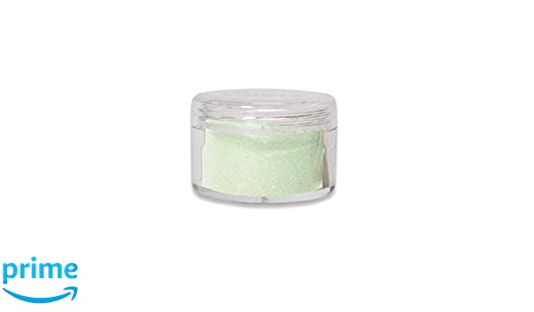 Embossing Powder Green Tea Sizzix 663737 Making Essential Opaque 12g