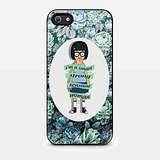 Tina Belcher I'm a Smart Strong Sensual Woman Flower for Iphone and Samsung Galaxy Case (iPhone 5/5s Black)