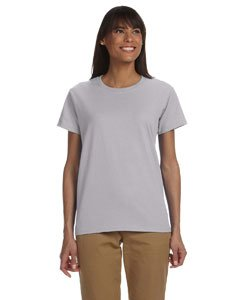 Gildan Womens 6.1 oz. Ultra Cotton T-Shirt G200L -SPORT GREY L ()