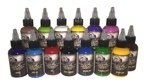 Crazyhorse High Quality Tattoo Ink - Primary Set #2