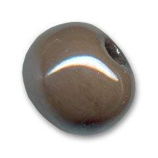 Perlina in ceramica mm. 12 Cachii iridato