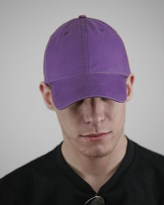 Alternative Basic Chino Twill Cap, Purple, Os (Caps Zyme 100)