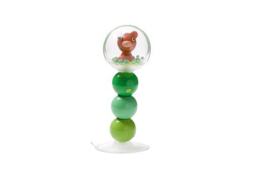 Character Table Rattle 16cm (6 inch) Green/Aqua