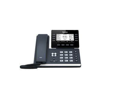 Yealink T53W IP Phone, 12 VoIP Accounts. 3.7-Inch Graphical Display. USB 2.0, 802.11ac Wi-Fi, Dual-Port Gigabit Ethernet, 802.3af PoE, Power Adapter Not Included (SIP-T53W) (Best Ip Phones 2019)