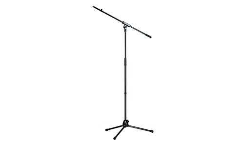 K & M Mic stand with boom arm