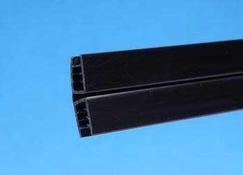 Perfecto Manufacturing APFR01041 30-Inch Marineland Glass Canopy Hinge for Aquarium, Small, Black