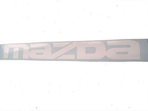 GY Vinyl Arts,Mazda,Windshield,Decal,Window,Sticker,Compatible,Mazda,Cars