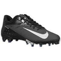 Nike Vapor Talon Elite Low TD Football Cleats (13.5, Black/Metallic Silver)