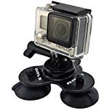 BRLS 3.0 Premium Removable Mount for GoPro (Blacked Out)