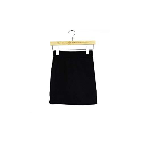 FlowerKui Jupe MINI Jupe Stretch Short Fitted Pour les vtements de mode Black