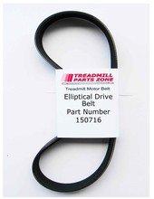 - Pro Form Model PFEL038123 Hybrid Trainer Elliptical Drive Belt Part Number 150716