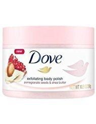 Dove Exfoliating Body Polish Body Scrub, Pomegranate & Shea