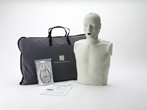 Prestan Professional Adult CPR - AED Training Manikin, Dark Skin Tone