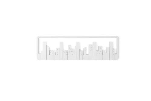 - Umbra Skyline Multi Hook Wall-Mount, White