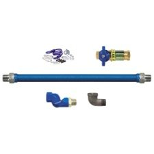 """Dormont 1650KIT48 48"""" x 0.5"""" Gas Connector Kit with 2 Elbows from Dormont"""