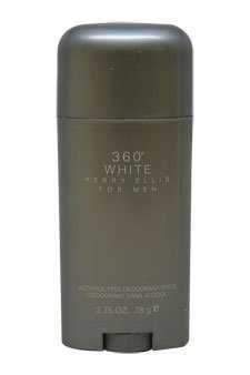 (360 White for Men By Perry Ellis Deodorant Stick, 2.75-Ounce)