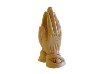 Holy Land Market Olive Wood Praying Hands.(6