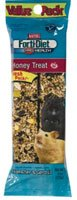 Kaytee Forti-Diet Pro Health Hamster Gerbil Honey Stick Value Pack Treats 8oz