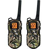 Motorola (TWO PACK) 35-Mile Range 22-Channel FRS/GMRS Two-Way Radio with 11 Weather Channels (7 NOAA) and iVOX/VOX - Hands-Free Operation, PTT Power Boost Extends Range, Emergency Alert Button, Camouflage Design