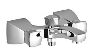 WALL-MOUNTED TUB MIXER WITHOUT SHOWER SET Chrom Polished