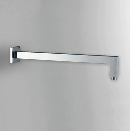 Pipe Bijia 16' Square Wall Mounted Chrome Polished Brass Rainfall Shower Arm G1/2 Connector HJ-0428K 16' Wall Shower Arm