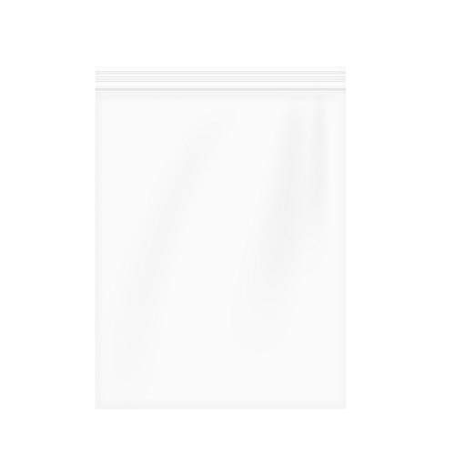 9''x12'' 2 Mil,Resealable Plastic Bag Clear Reclosable Zip Bags,Clear Resealable Poly Ziplock Bags Bulk,Pack of 100 by RECER