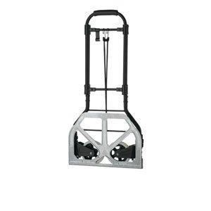 travel-smart-by-conair-heavy-duty-luggage-cart-black-silver
