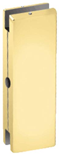 C.R. LAURENCE AMR206BR CRL Brass AMR Series Sidelite or Glass Door Mounted Keeper