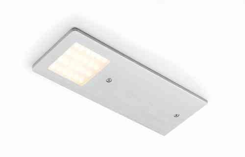 RONIN FURNITURE FITTINGS® Polar 3er-Set 3x5W 24Vdc naturweiss Aluminium, incl. Konverter, Unterbauleuchte DO.222.6305.N