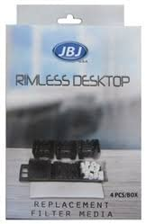 JBJ Rimless Desktop 8 Gallon with LED /& Filter
