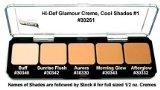 Graftobian HD Glamour Creme Foundation Palette, Cool #1