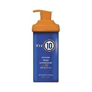 It's A 10 Miracle Deep Conditioner Plus Keratin for Unisex, 17.5 Ounce by It's A 10