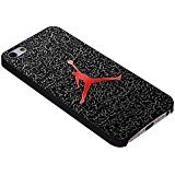 The Legend Michael Air Jordan For iPhone Case (iPhone 5/5S black) (Case Iphone Jordan Air 6 5s)