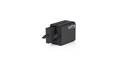 GoPro Dual Battery Charger + Battery for HERO4 Black HERO4 Silver (GoPro Official Accessory)