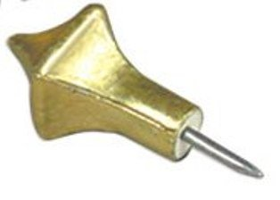 Easter Vigil Service Accessory Pack of 5 Gold Nails for Cross on Paschal Candle
