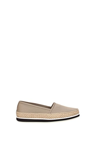 Espadrilles Prada Women - Fabric (3S5993) UK Green